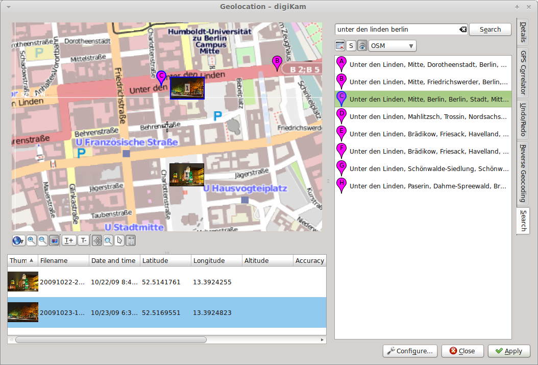 New Features in digiKam 2.0: Geolocation | Scribbles and Snaps