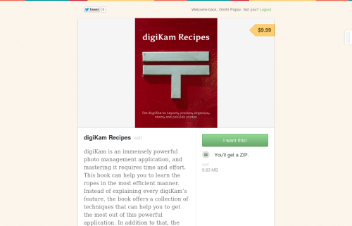 digiKam Recipes on Gumroad