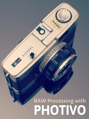 RAW Processing with Photivo